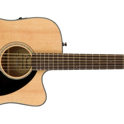 Fender CD-60SCE Acoustic-Electric Guitar - Natural for sale