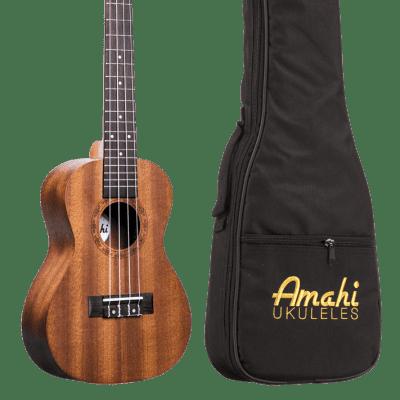 Amahi UK210C Select Mahogany Series Concert Ukulele