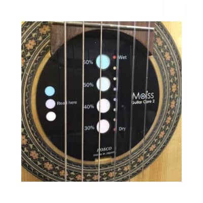 Hosco Moiss2 - Visible Humidity Controller for Classical Guitar 85mm for sale
