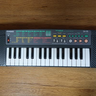 Casio SA-35 SongBank Keyboard