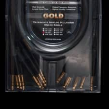 Mogami Gold 8 Channel TRS-TRS Male Snake Cable 10 Feet
