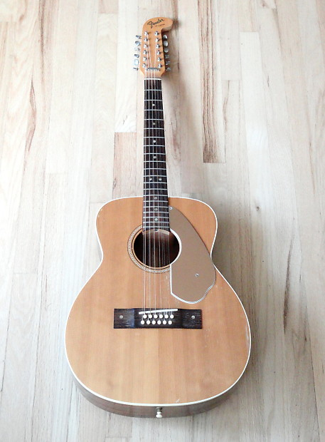 1965 fender villager xii vintage 12 string acoustic guitar reverb. Black Bedroom Furniture Sets. Home Design Ideas