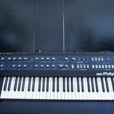 KORG Polysix Vintage Polyphonic Analogue Synthesiser