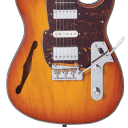 Fret-King FKV22HB Country Squire Semitone De Luxe Honeyburst