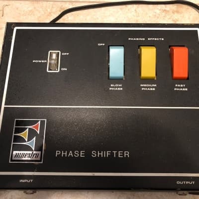 Maestro PS-1A Phase Shifter 1970s pretty nice sounds great for sale