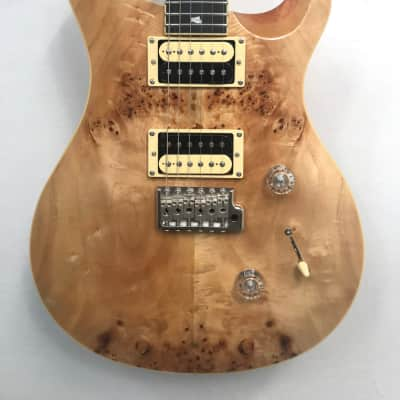 Paul Reed Smith SE Custom 24 Poplar Burl Top, Natural Finish, w/Gigbag, 1 of 25 Made SN-12466