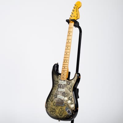 Fender Custom Shop '68 Relic Stratocaster - Black Paisley for sale