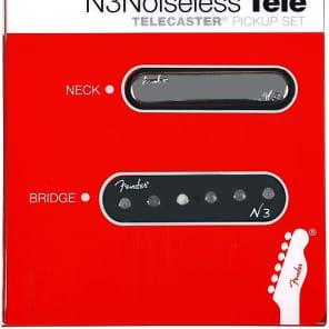 Fender 099-3116-000 N3 Noiseless Telecaster Pickup Set