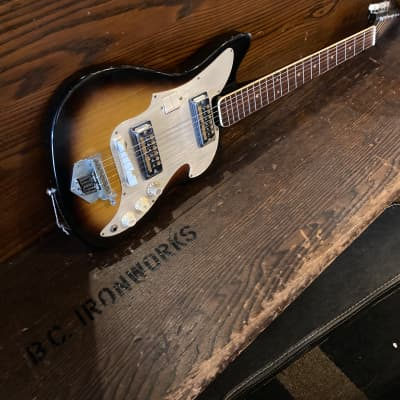 Audition 2 pickup solidbody 60's Sunburst for sale
