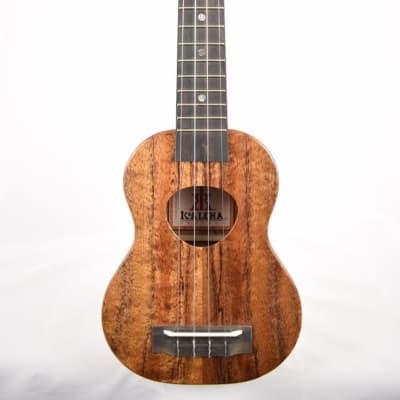 KoAloha KSM-00 : Hawaiian Koa Soprano Ukulele (ISI32751) for sale