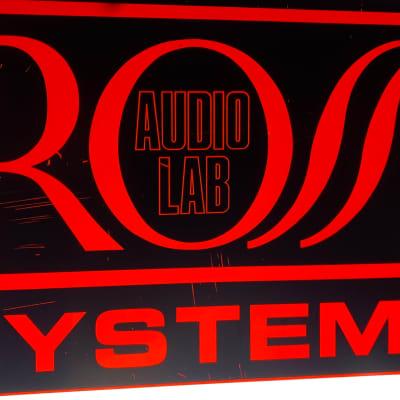Ross 80s Dealer sign 1980 Red