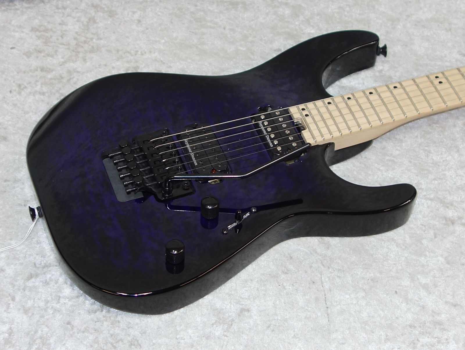 In Stock! 2018 Charvel Pro-Mod DK24 HH FR 0 40 guitar trans purple burst