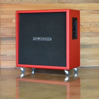 Mojotone 4X12 Guitar Cabinet with Closed Back 2018 Red Garnet for sale