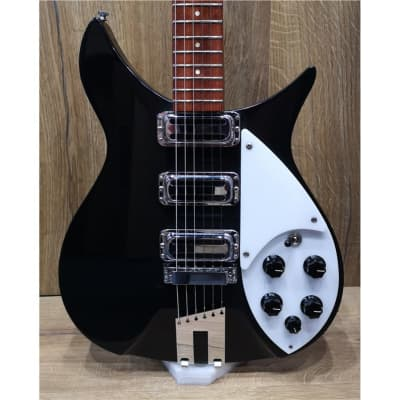 Rickenbacker 350V63 Liverpool Jetglo black, Second hand for sale