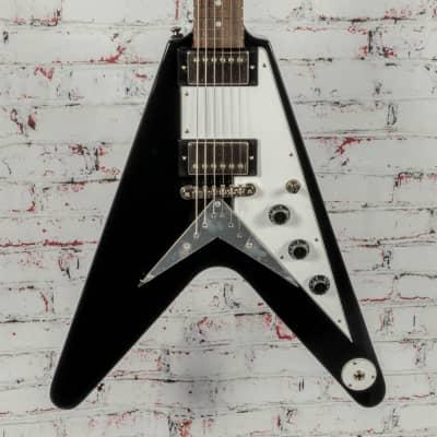 Epiphone Flying V Electric Guitar Ebony x5750 for sale