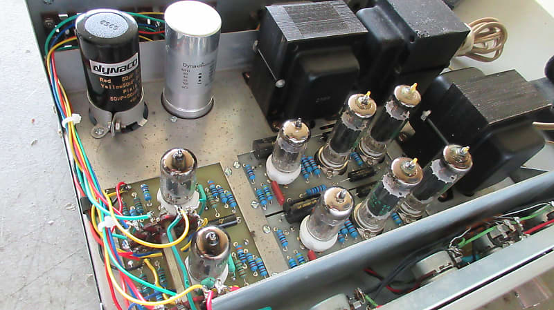 Rebuilt DYNACO SCA-35 Integrated Tube Amplifier / with Phono input / 7199  12AX7 6BQ5