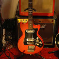 Klira Solid Body 60's Red for sale