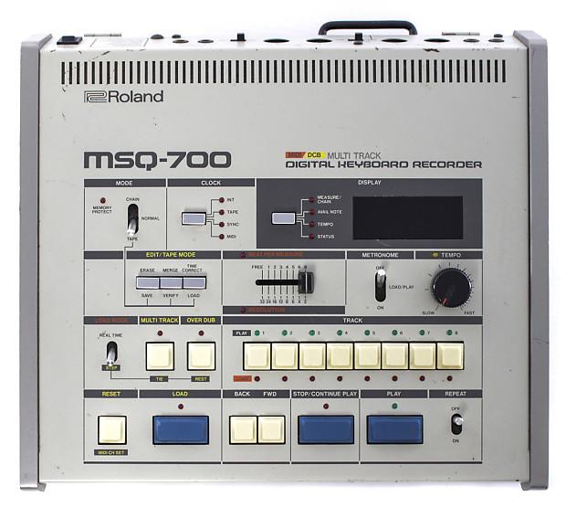 roland msq 700 multitrack digital keyboard recorder reverb. Black Bedroom Furniture Sets. Home Design Ideas