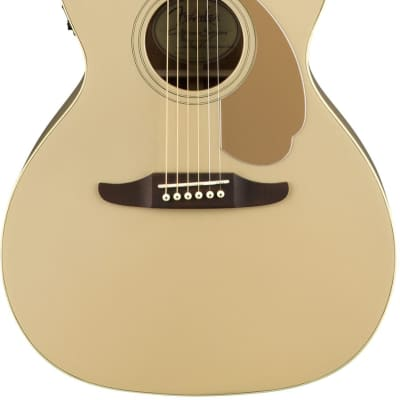 Fender California Series Newporter Player Champagne Electro Acoustic for sale