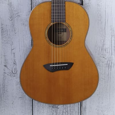 9bf09285e5 Yamaha All Solid Parlor Body Acoustic Electric Guitar CSF3M with Hard Gig  Bag
