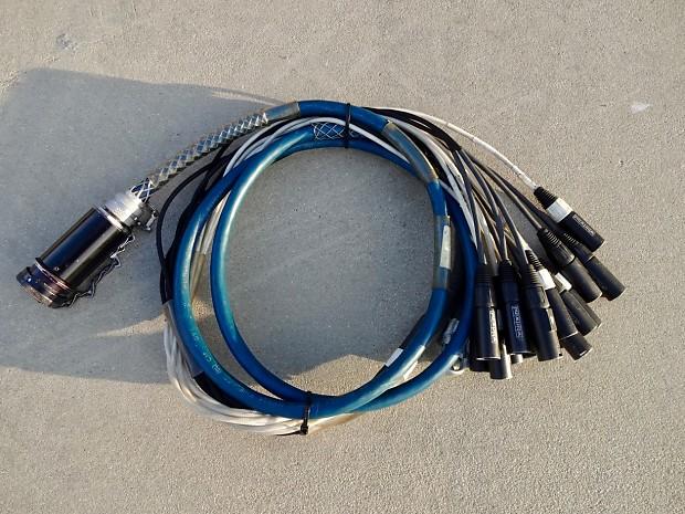 Whirlwind W-2 Fanout 16 Male XLR 2000 Blue | Remote West
