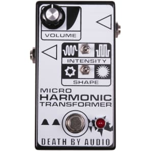 Death By Audio Micro Harmonic Transformer Fuzz