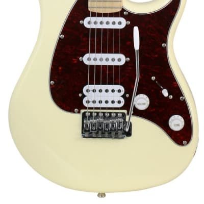 Peavey Raptor Plus Electric Guitar SSH - Ivory for sale