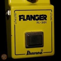 Ibanez FL-301 Flanger 1980s Yellow image