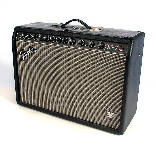 fender deluxe vm vintage modified guitar amplifier used reverb. Black Bedroom Furniture Sets. Home Design Ideas