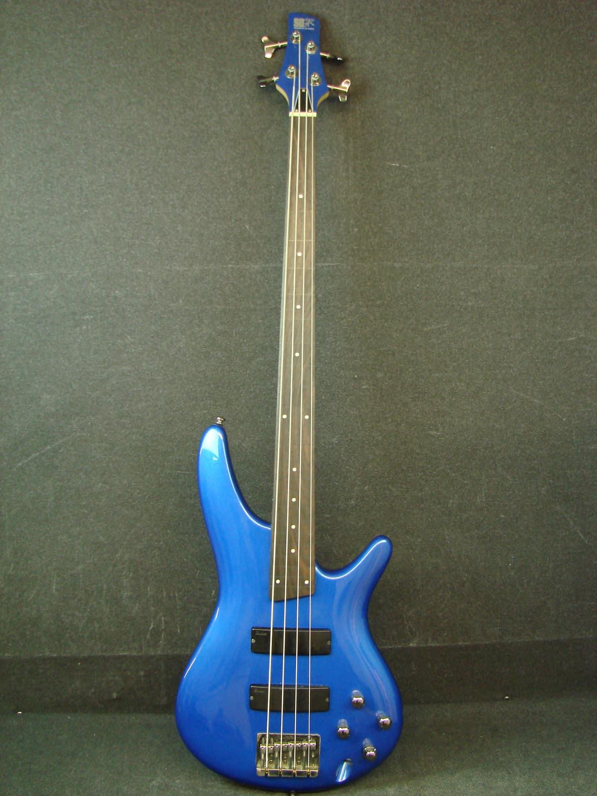 ibanez sr300 fretless 4 string bass guitar w bag matching reverb. Black Bedroom Furniture Sets. Home Design Ideas