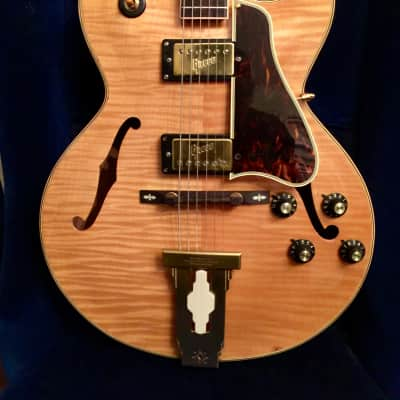 Greco L-4 ces  higher end 2455 hollowbody archtop breathtaking WoW