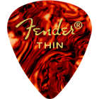 Fender 351 Shape Classic Celluloid Guitar Picks, Thin Shell, 12-Pack image