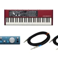 Nord Electro 5D 61 61-Key Keyboard w/ PreSonus iTwo and 2 instrument cables