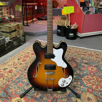 Mosrite Celebrity 60s Sunburst Guitar for sale