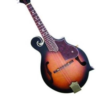 Trinity River FM4AS Florentine F-Style Acoustic Carved Solid Top Mandolin for sale