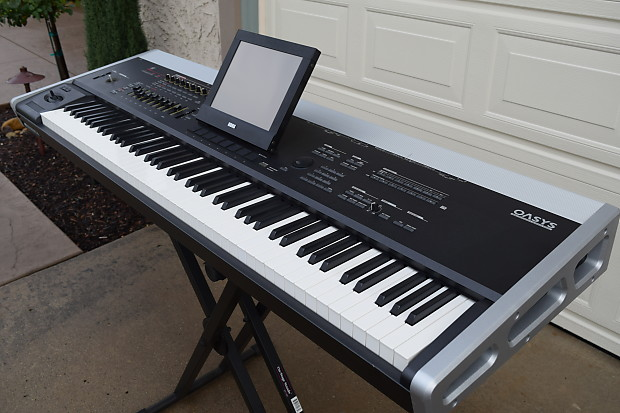 korg oasys 88 keyboard synthesizer excellent used 88 key reverb. Black Bedroom Furniture Sets. Home Design Ideas