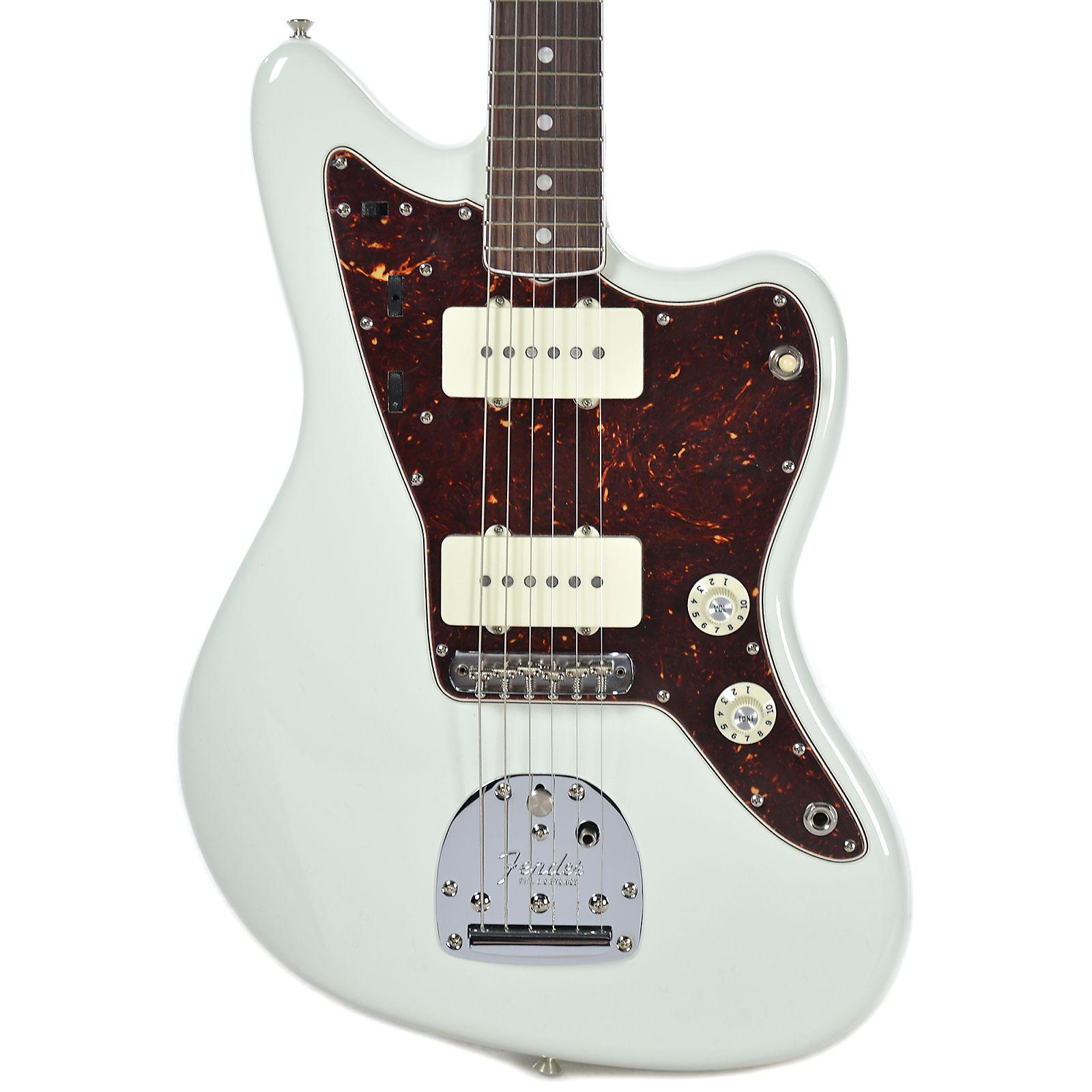 Fender American Vintage '65 Jazzmaster RW Olympic White w/Matching Headstock