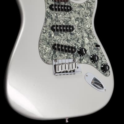 Fender American Deluxe Stratocaster 2006 Ghost Silver -plek optimized for sale