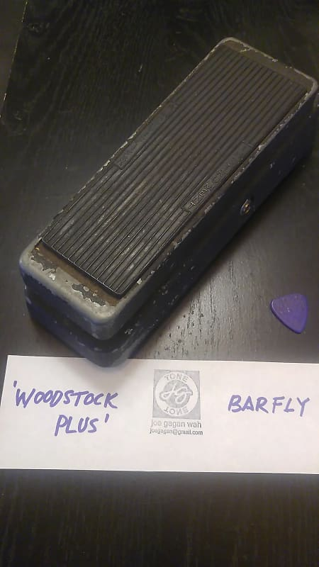 Best Wah Pedal 2020 Joe Gagan Woodstock PLUS