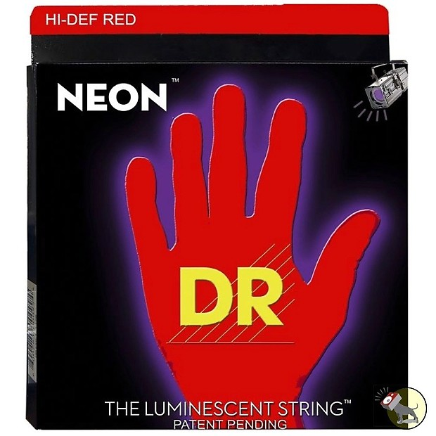 dr strings nrb6 30 k3 neon hi def red coated 6 string reverb. Black Bedroom Furniture Sets. Home Design Ideas