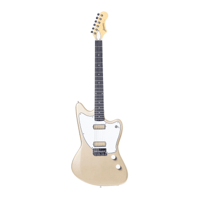 NEW! Harmony Silhouette Electric Guitar in Champagne