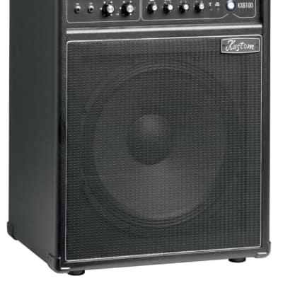 "Kustom KXB100 KXB Series 100-Watt 1 x 15"" Bass Combo Amplifier"