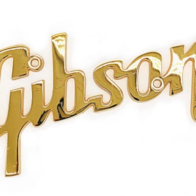Gibson Large Logo Genuine for RVT Series and Vintage Amps for sale