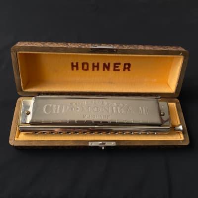 Hohner 280/64-C Chromonica 64 - Key of C Chromonika III with very nice luxurious wood box