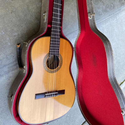 Oscar Teller 6177 1966 solid spruce luthier vintage classical guitar