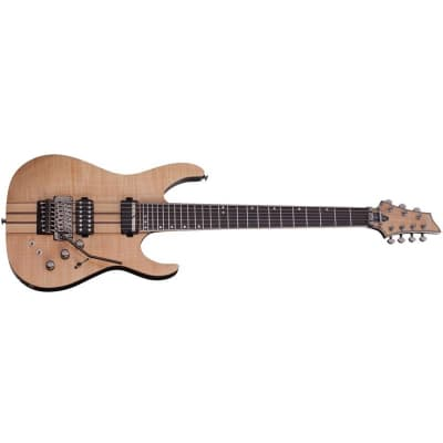 Schecter Banshee Elite-7 FR S, 7-String, Floyd Rose, Sustainiac, Gloss Natural for sale