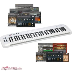 Samson  Carbon 61 - USB MIDI Keyboard Software Controller Bundle