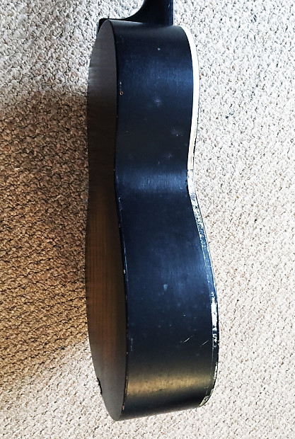 1960 S Weiss Acoustic Guitar Parlor Model G 100 Vintage