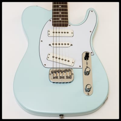 G&L ASAT Special Pine Body 3 Pickup Custom Build Sonic Blue for sale