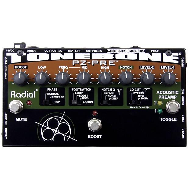 Radial Tonebone Pzpre Acoustic Preamp Manual Guide